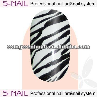 hot sale metallic nail art letter sticker wholesale