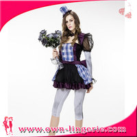 Ladies Cosplay Ghost Zombie Gothic Corpse Bride Halloween Fancy Dress Costume