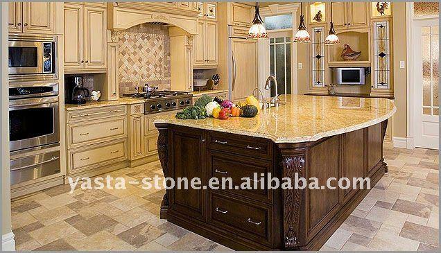 kashmir gold granit k che tischplatte badschrank platte tischplatte produkt id 496296310. Black Bedroom Furniture Sets. Home Design Ideas