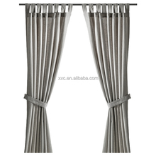 New Color Collection Chinese Stripe Window Treatment Curtain Design