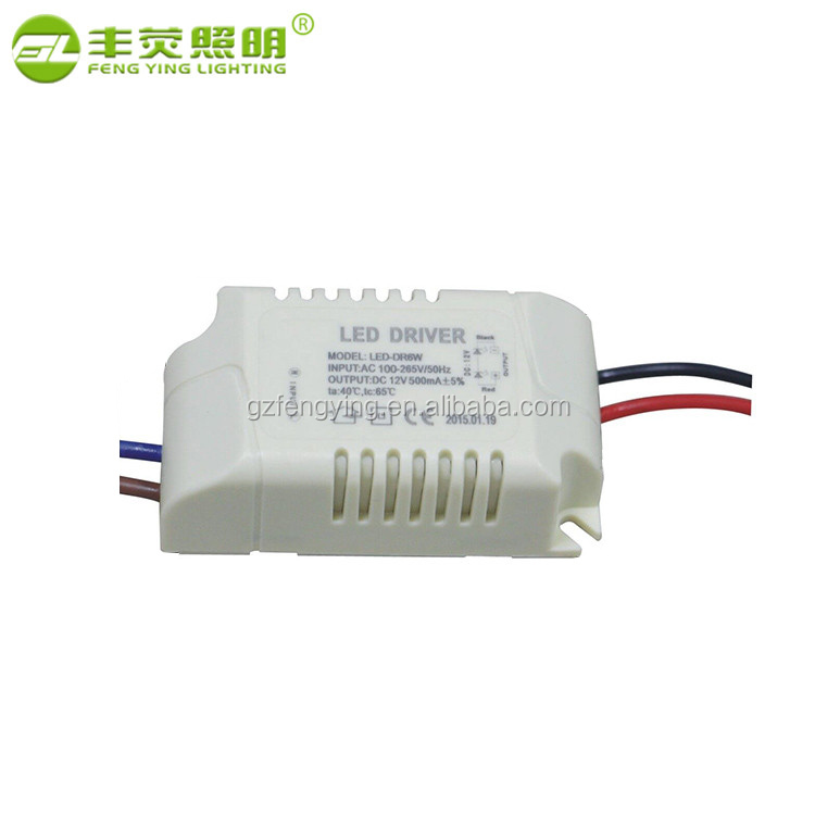 12v ac-dc constant voltage dimmable led driver dc power supply 13.5v 500ma