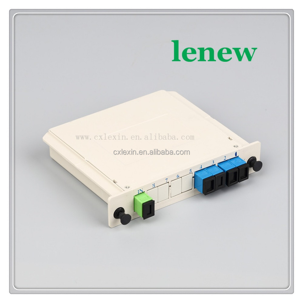 Computer network and telecommunication network ftth fiber optic splitter
