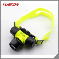 150 Lumen Rechargeable Battery LED Zoomable Headlight Headlight Torch Flashlight