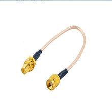 3ft 1m RF Coaxial Pigtail Cable Connectors RG316 RP-SMA Female with RP SMA Male