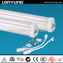 fittings america markets with ul etl approval t5 integrated bi-color smd led lighting tube factory price