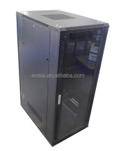 "37u server rack 19"" network cabinet floor stand glass door"