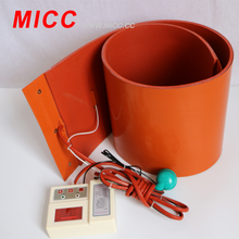 MICC 12v dc Water Heater Silicone Heat Pad Flexible Silicone Heater