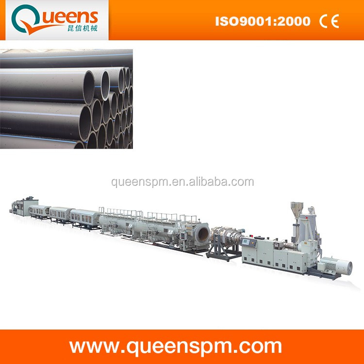 China High Performance Three Layers PE Pipe Production Line