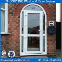 Custom made size interior upvc arch door frame