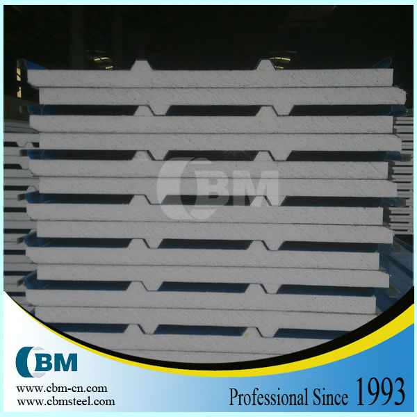 Heat insulation sandwich panel 50mm thick roof insulation EP2023