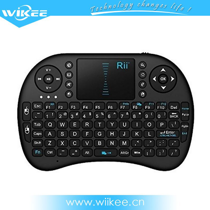Cheap selling 2.4G mini wireless keyboard i8fly air mouse for tablet PC android tv box