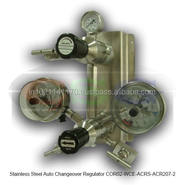 Stainless Steel Auto Changeover Regulator ( COR02-WCE-ACRS-ACR207-2 )