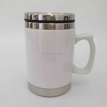 ceramic stainless steel travel mug