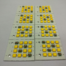 16 led pcb grow light pcb assembly for horicultural lighting pcba