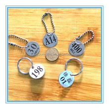 Can be customized logo small metal tags