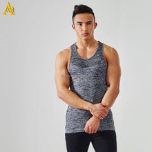 custom high quality croop top dri fit tank top gym wear for men