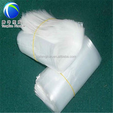 high load-bearing white poly transparent plastic shopping bag