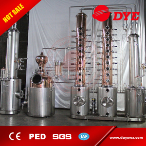 300L medoff vodka still alcohol copper distillery equipment