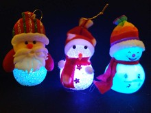 LED decorative snowman night light christmas ornaments