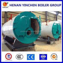 Industrial horizontal gas oil fired steam boiler generator