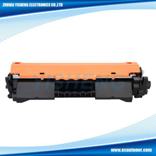 Factory wholesale price compatible cf217a toner cartridge 17a for hp laserjet pro