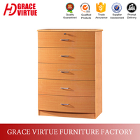China supplier cheap chest of drawers wooden for sale- D003-5