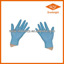 AQL 1.5 - 4.0 disposable nitrile gloves price for food and medical