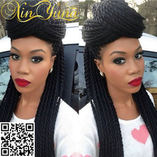 Top selling crochet braid hair wigs fashion havana twist human hair wigs most popular braiding hair wigs for black women