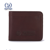 2016 leather wallet men genuine leather