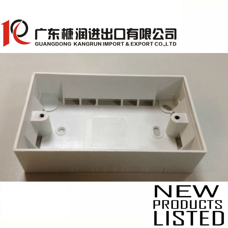 3x6 electrical pvc junction box 145x85x36mm T:2.0mm