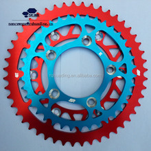 Off Road 7075 T6 Aluminium Alloy Motorcycle Sprocket for Dirt Bike