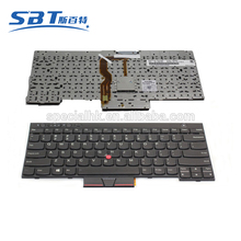 New arrival laptop keyboard for lenovo Thinkpad T430 T430S T430i US UK RU SP RU version