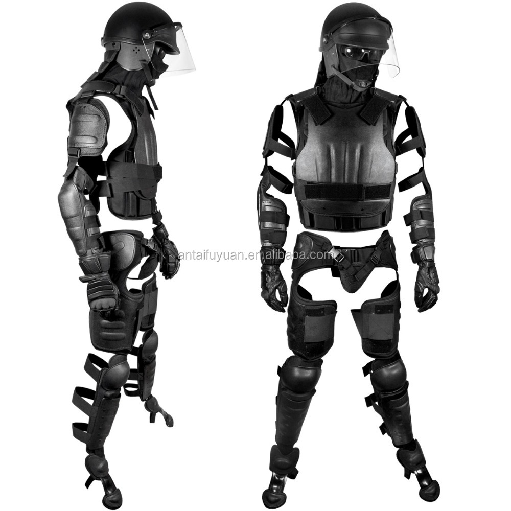 Police use anti-riot suit body lightweight Police Ultimate Anti-Riot Gear System