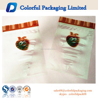2015 high quality Plastic Snack Food Packaging Bag with window