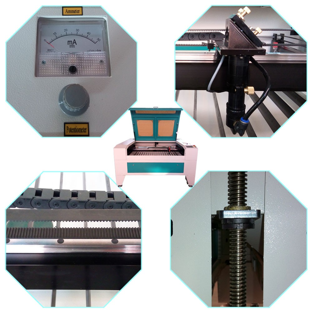 100w CO2 1390 1410 decorations laser cutting machine