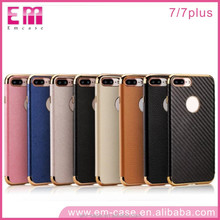 For iPhone 7 Electroplating + Glitter TPU case Soft Mobile Phone Case For iPhone 7