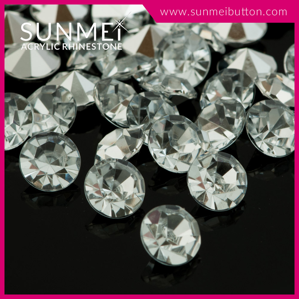 In Stock Products Taiwan Quality Crystal Point Back Acrylic Rhinestones