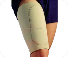 High quality neoprene sport safety thigh and calf support with pad , leg support