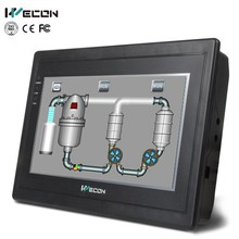 Wecon hmi 7 inches tft lcd color monitor control system