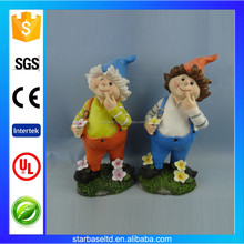 Custom resin garden dwarf figurine