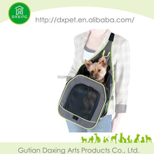 air conditioned pet carrier for summer season stripe