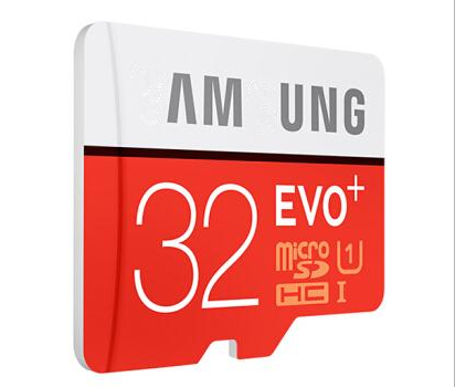 Real full Capacity Samsung1 EVO+ MicroSDHC UHS-1 32gb Card with Class 10