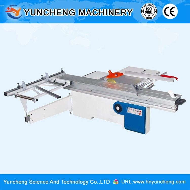 Woodworking high quality sliding table format wood cutting panel saw machine in machinery