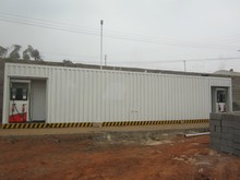 20 feet/40 feet explosion-proof skid-mounted fuel station, easy construction container type filling station