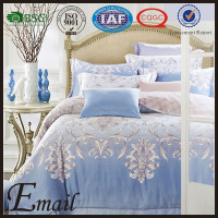 Luxury indian brocade 100% silk bedspread/bedding set