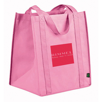 Promotional recyclable non woven bag tote shopping bag