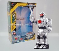 Hot and New rc robot ROBOCOP IR robot with shooting&dancing RC brushless motor
