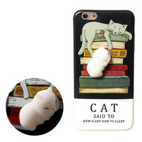 Alibaba Best Sellers Release Pressure Animal Toys Custom 3D Silicone Cartoon Phone Case For Iphone 8 X Case