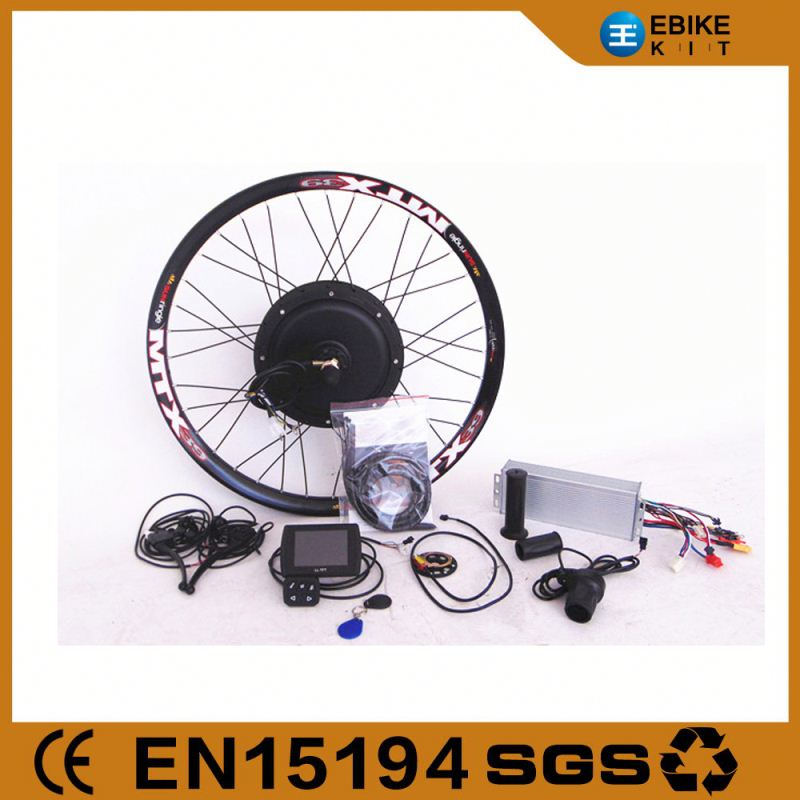 Electric Bike Kit 500 Watt Hub Motor for Bicycle Conversion