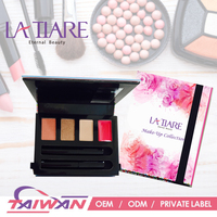 Taiwan cosmetic palette colorful makeup sets